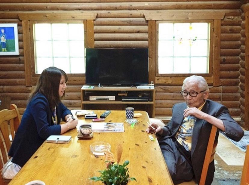 後藤と話すムツゴロウさん